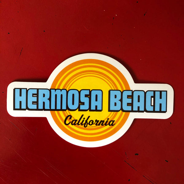 Hermosa Beach Sticker - HIGH HEAT