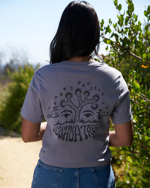Joshua Tree Moon Face Tee