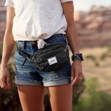 Packable Hip Fanny Pack - Charcoal
