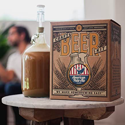 American Pale Ale - Reusable Make Your Own Beer Kit – Starter Set 1 Gallon
