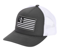 Liberty Trucker Hat - Charcoal/White