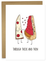 THICK AND THIN PIZZA
