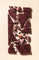 Organic Vegan Dark Chocolate Bar Pure 80% Cocoa - COMPARTÉS Chocolate Bar (Available ONLY for PICKUP or LOCAL DELIVERY)