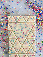 Birthday Cake & Sprinkles - COMPARTÉS Chocolate Bar (Available ONLY for PICKUP or LOCAL DELIVERY)