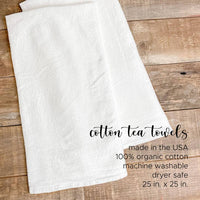 Antlers - Cotton Tea Towel