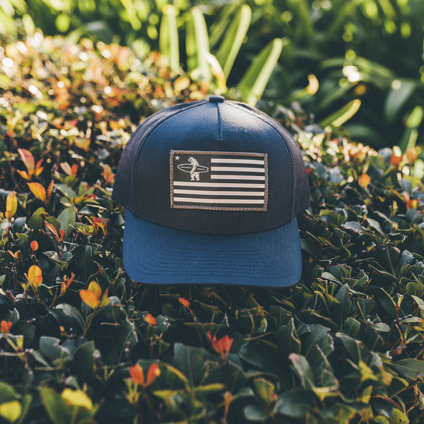 Liberty Trucker Hat - Navy