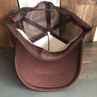 Hermosa Beach HERMOSA AVE Trucker Hat - Brown