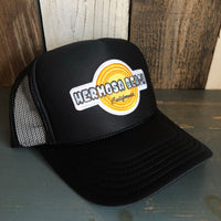 Hermosa Beach HIGH HEAT Trucker Hat - Black