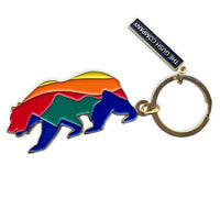 Sunrise Bear Keychain