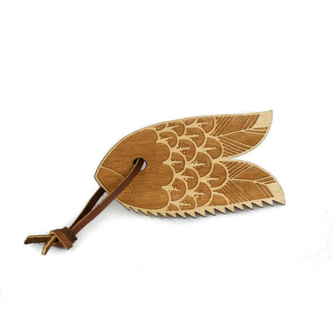 Wooden Wax Comb