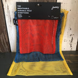 Mesh Carry All Bags (3 pack - Red Coral/Vibrant Yellow/Indigo)