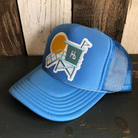 Hermosa Beach LIFEGUARD TOWER Col. Blue Trucker Hat