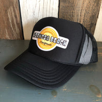 Hermosa Beach HIGH HEAT Black Trucker Hat