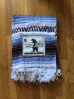Baja Blanket - Blue/Black/White/Grey