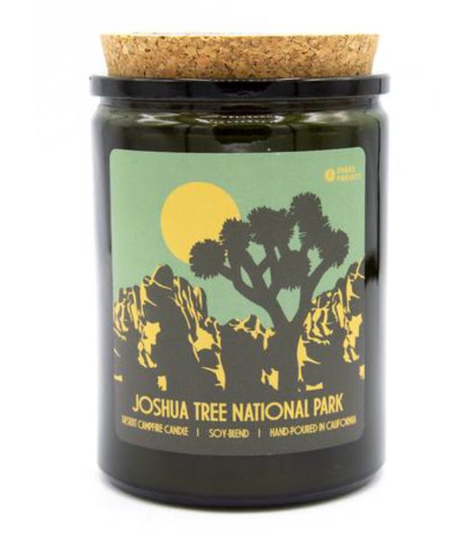 Joshua Tree National Park Desert Campfire Candle