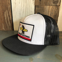 The Shores Original Trucker Hat - White/Black