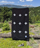 Positive Vibrations Blanket - Black/White