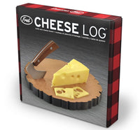 Cheese Log - Board and Knife Set