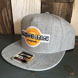 Hermosa Beach HIGH HEAT Premium 5-Panel Gray Mid Profile Snapback Hat
