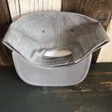 Hermosa Beach TUBULAR Premium 5-Panel Gray Mid Profile Snapback Hat