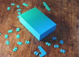 Gradient Puzzle Collection - Blue/Green