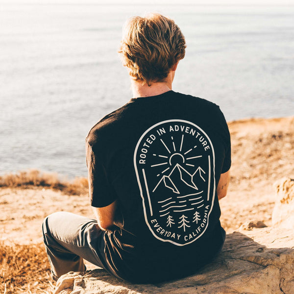 Rooted Tee Black