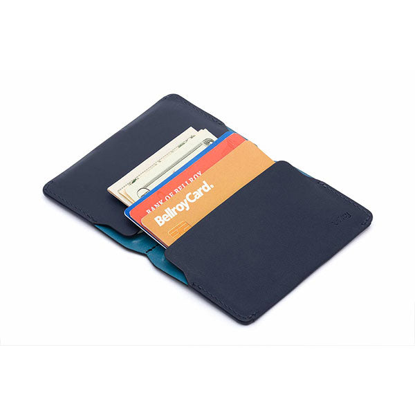 Bellroy Card Holder Wallet - Blue Steel