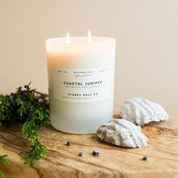 COASTAL JUNIPER (14 oz Tumbler Candle)