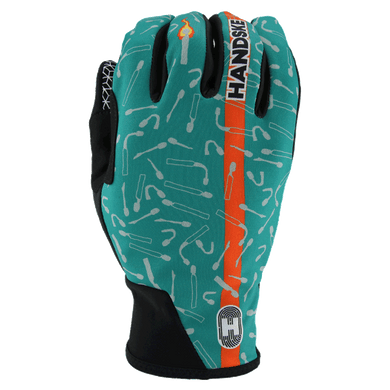 LAST MATCH TEAL WINDPROOF CYCLING GLOVES