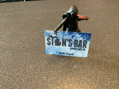 Stan's Bar gift card