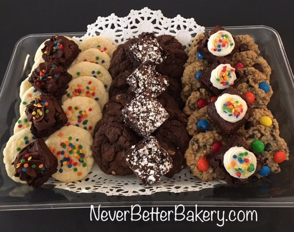 Birthday Cookie and Brownie Small Tray