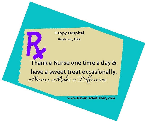 Gift Tag for a Nurse
