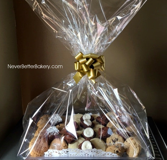 Anytime Cookie and Brownie Small Tray with Medium Size Cookies and Brownies Gift Packaged