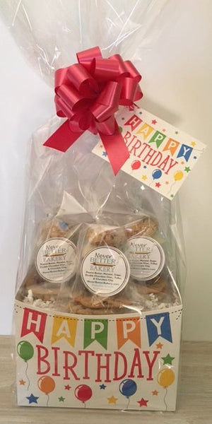 Birthday Banner Gift Box with Variety Cookies