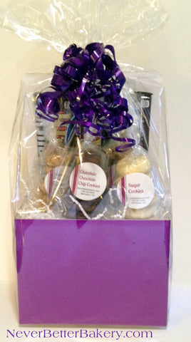 Purple Gift Box wrapped