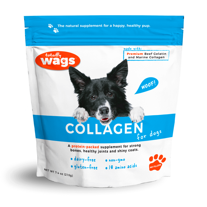 Totally Wags Collagen for Dogs Bag Front
