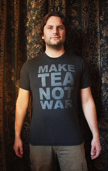 Make Tea Not War Tea-Shirt