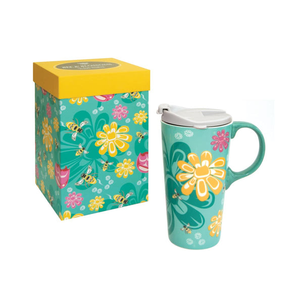 Perfect Mug - Bee and Blossoms by Paul Windsor