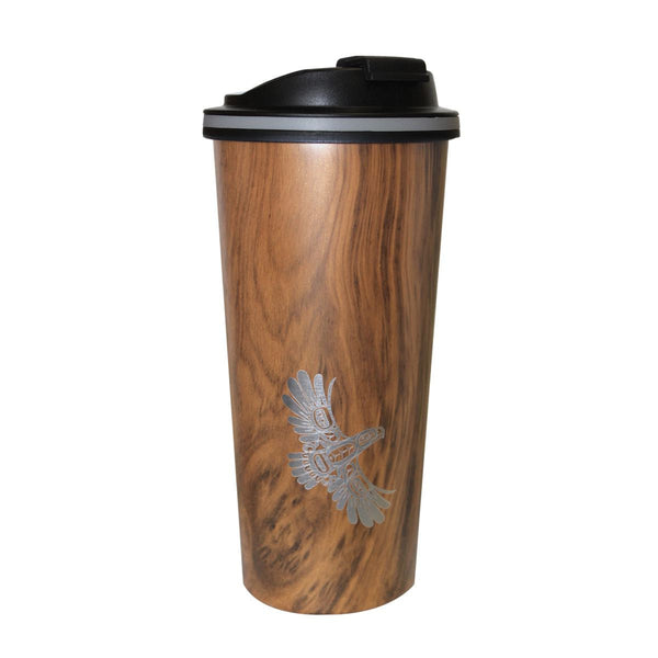 Travel Mug - Eagle's First Flight by Ernest Swanson