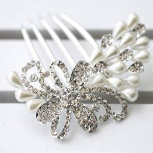 Bridal Hair Comb Wedding Hairpiece, Pearl Bridal Comb Wedding Hair Accessories Bridal Hair Piece