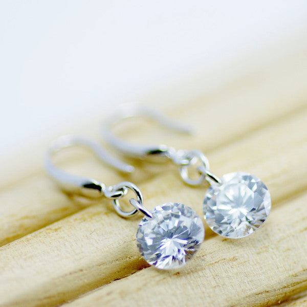 Crystal Droplet Earrings