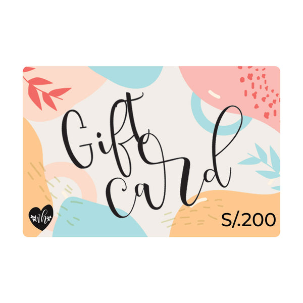 Gift Card Digital S/.200