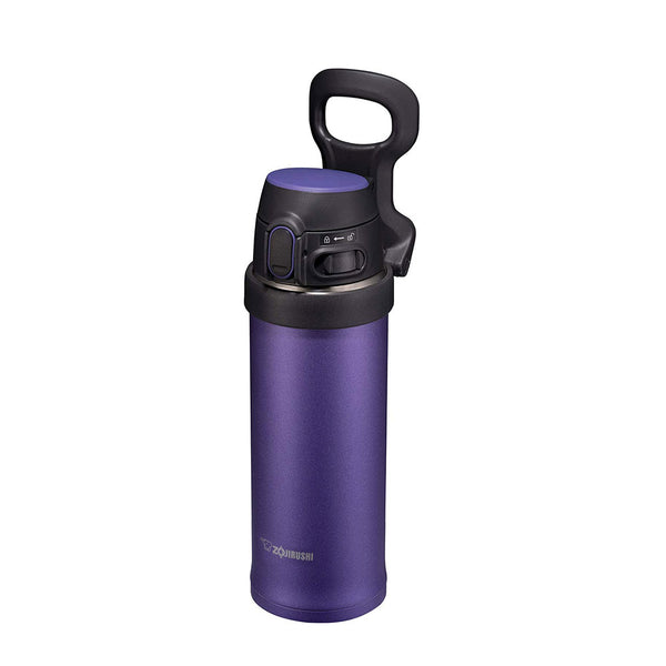 Termo Handle Flip and Go Acero Inoxidable Morado 480ml