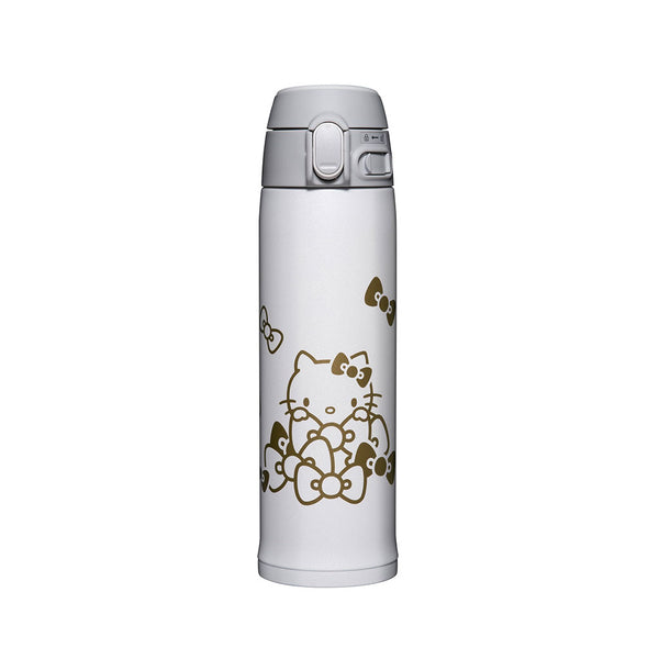 Termo Acero Inoxidable Hello Kitty Blanco 480ml