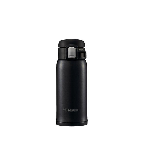 Termo Acero Inoxidable Negro 360ml