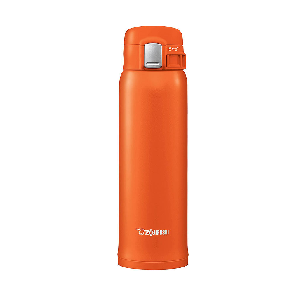 Termo Acero Inoxidable Naranja 480ml