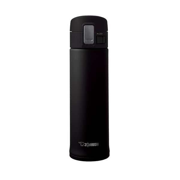Termo Acero Inoxidable Negro 480ml