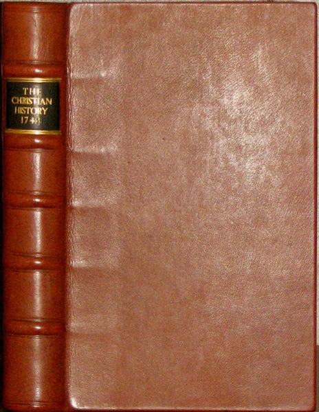 1744 Boston imprint, Thomas Prince, The Christian History