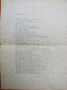Smythe, Daniel.  Steep Acres [Inscribed to Margaret Livingston Fairley, with typewritten poem]