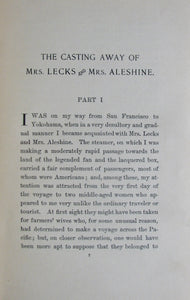 Stockton, Frank R. The Casting Away of Mrs. Lecks and Mrs. Aleshine